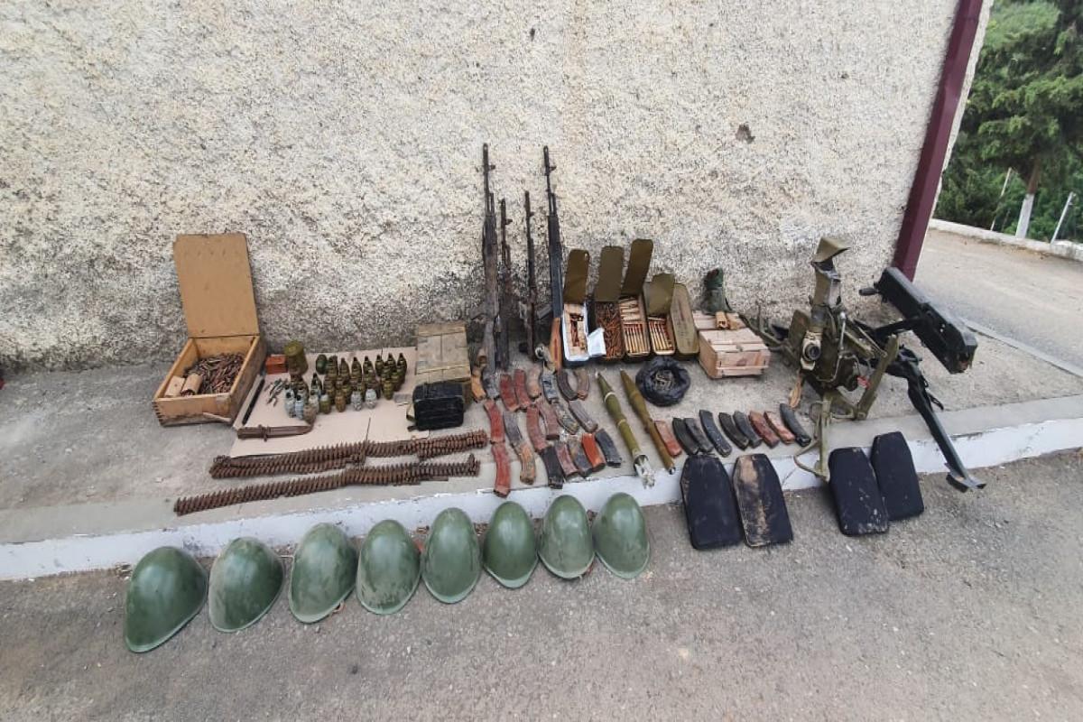 Xocavənddə silah-sursat aşkar edilib - FOTO
