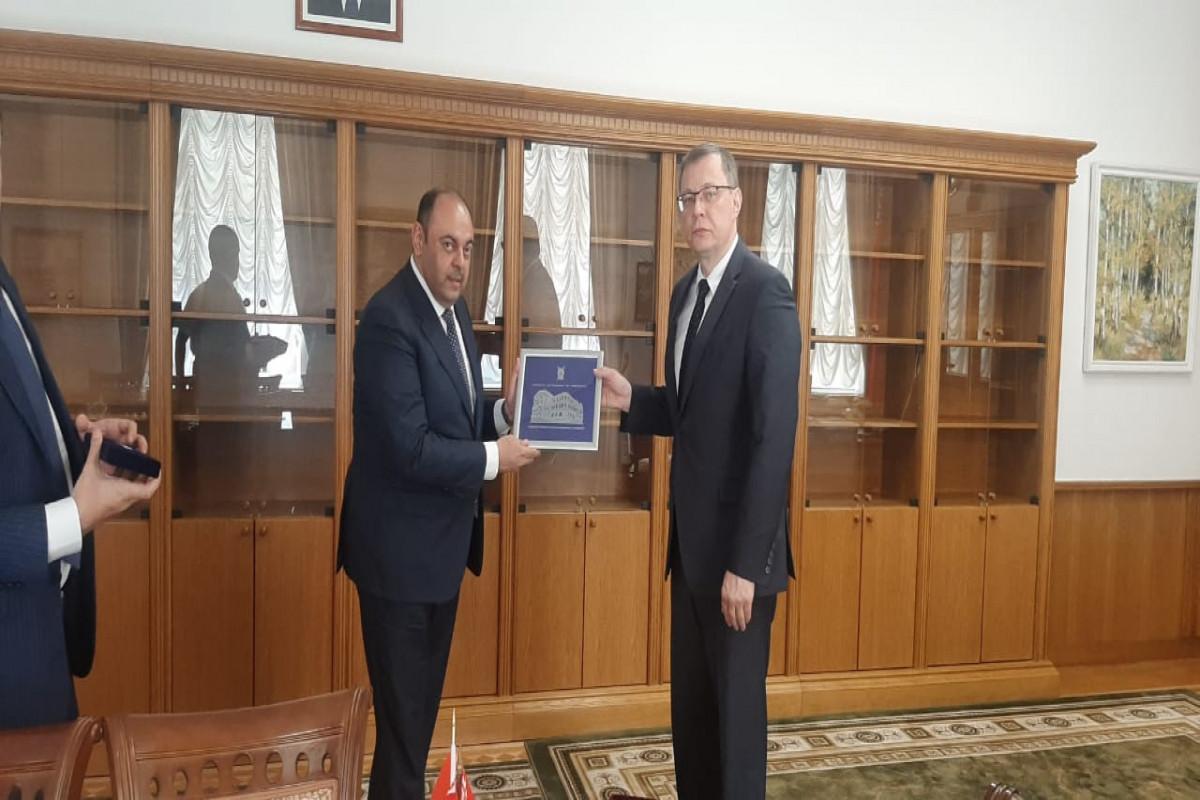 Baş prokurorun birinci müavini Minskdə keçirilən beynəlxalq konfransda iştirak edib