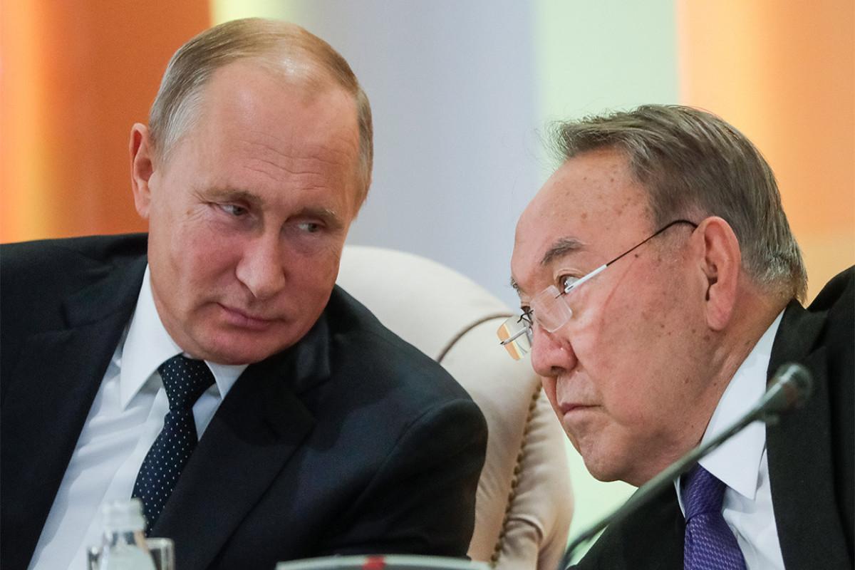 Путин встретится с Назарбаевым