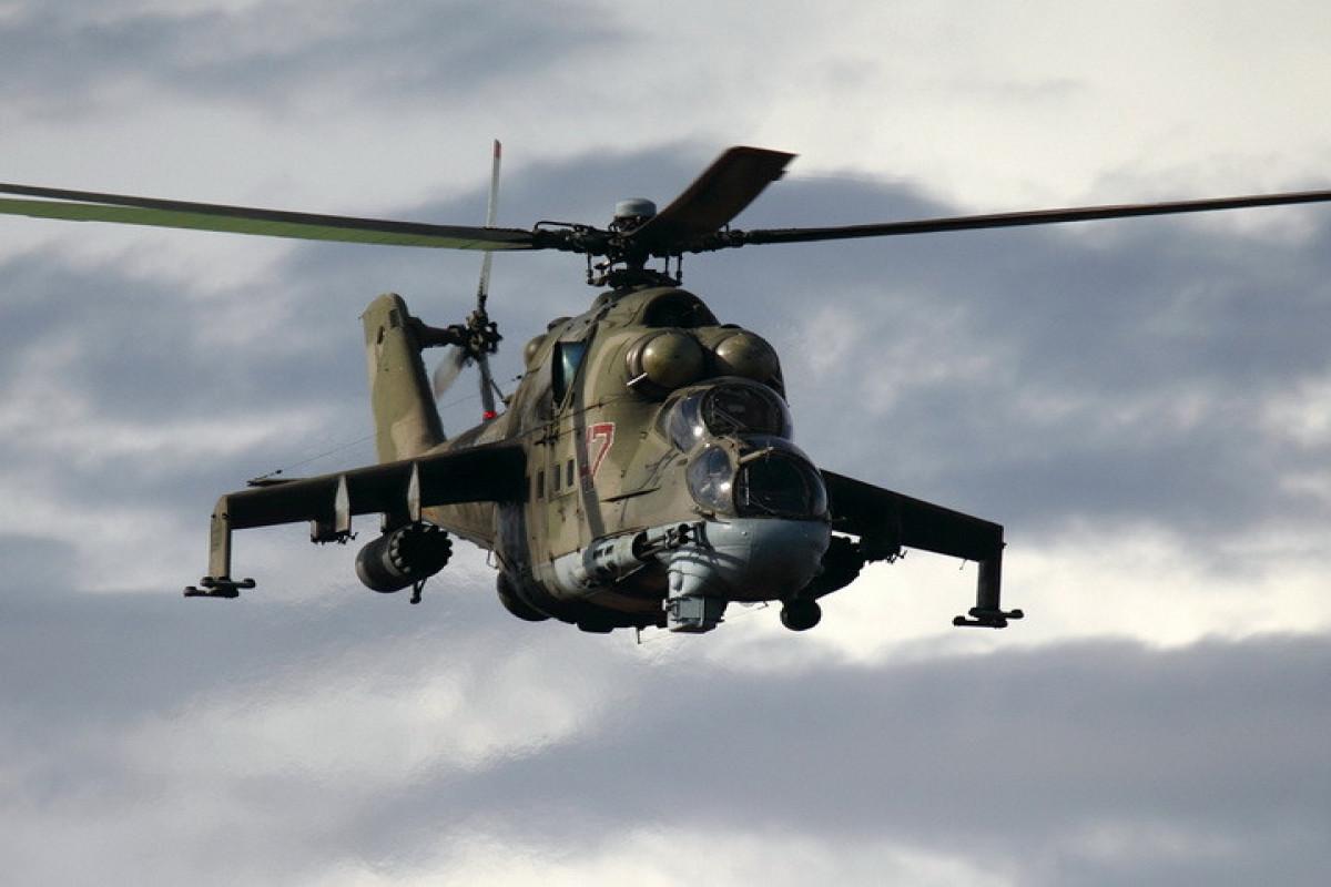 Azərbaycan Rusiyanın Mi-24 helikopterinin vurulması ilə bağlı sübutlar götürüb, ekspertizalar keçirib - YENİLƏNİB  - VİDEO