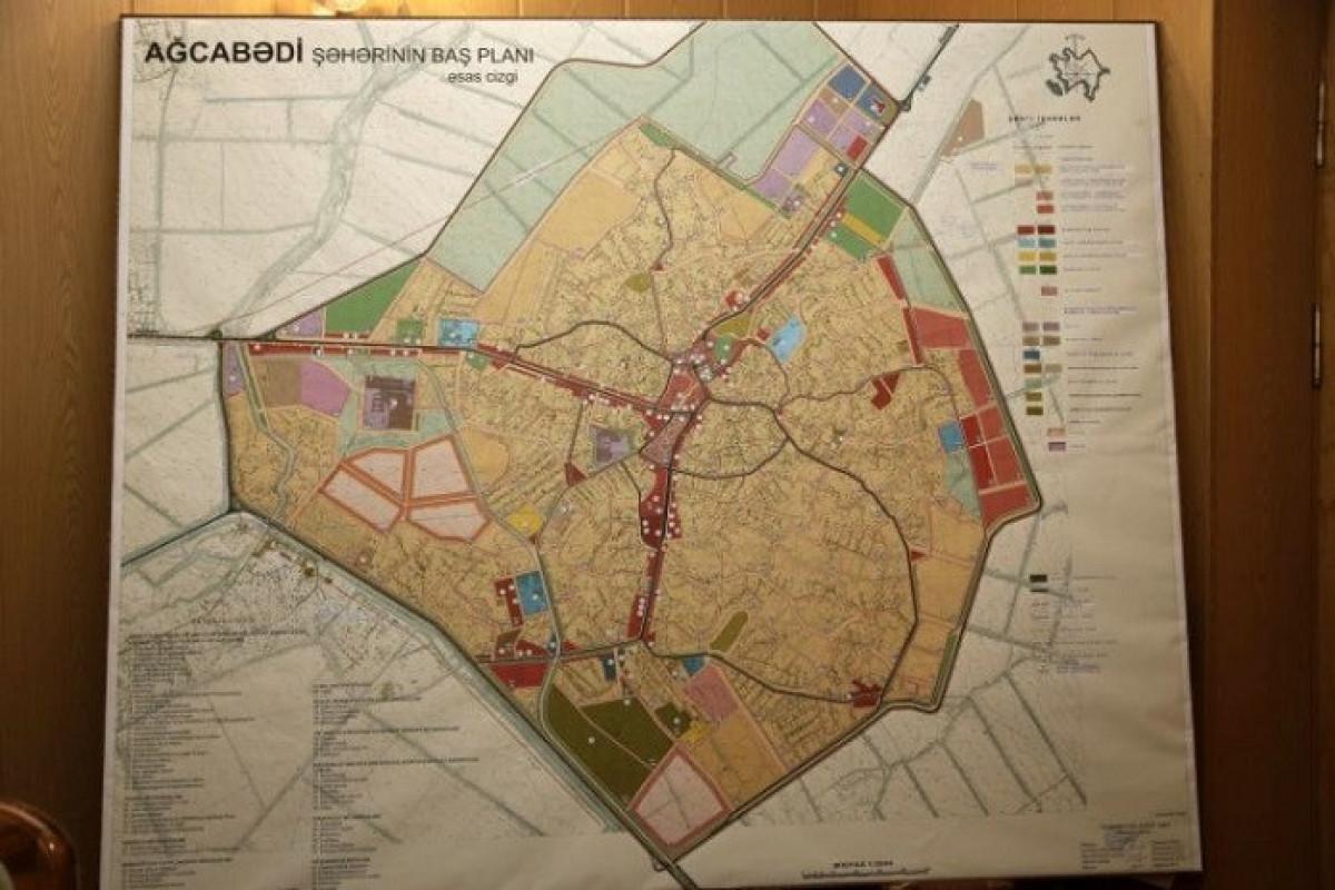 Утвержден генеральный план города Агджабеди