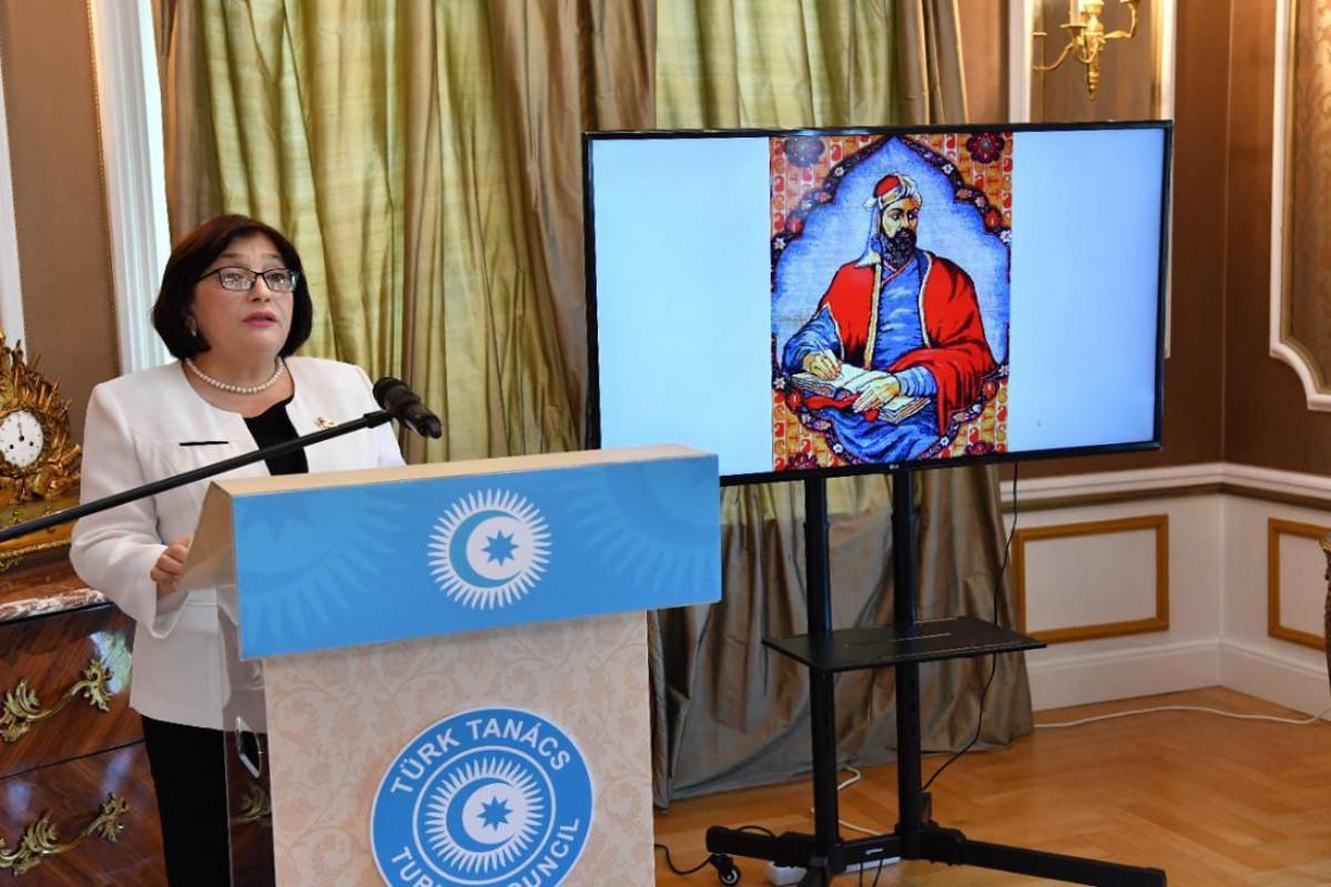 Chair of Milli Majlis Sahiba Gafarova Spoke at Turkic Council's Office in Budapest