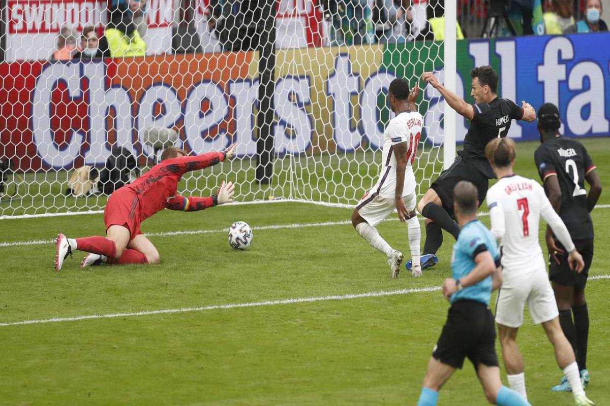 Евро-2020:  Англия обыграла Германию в плей-офф