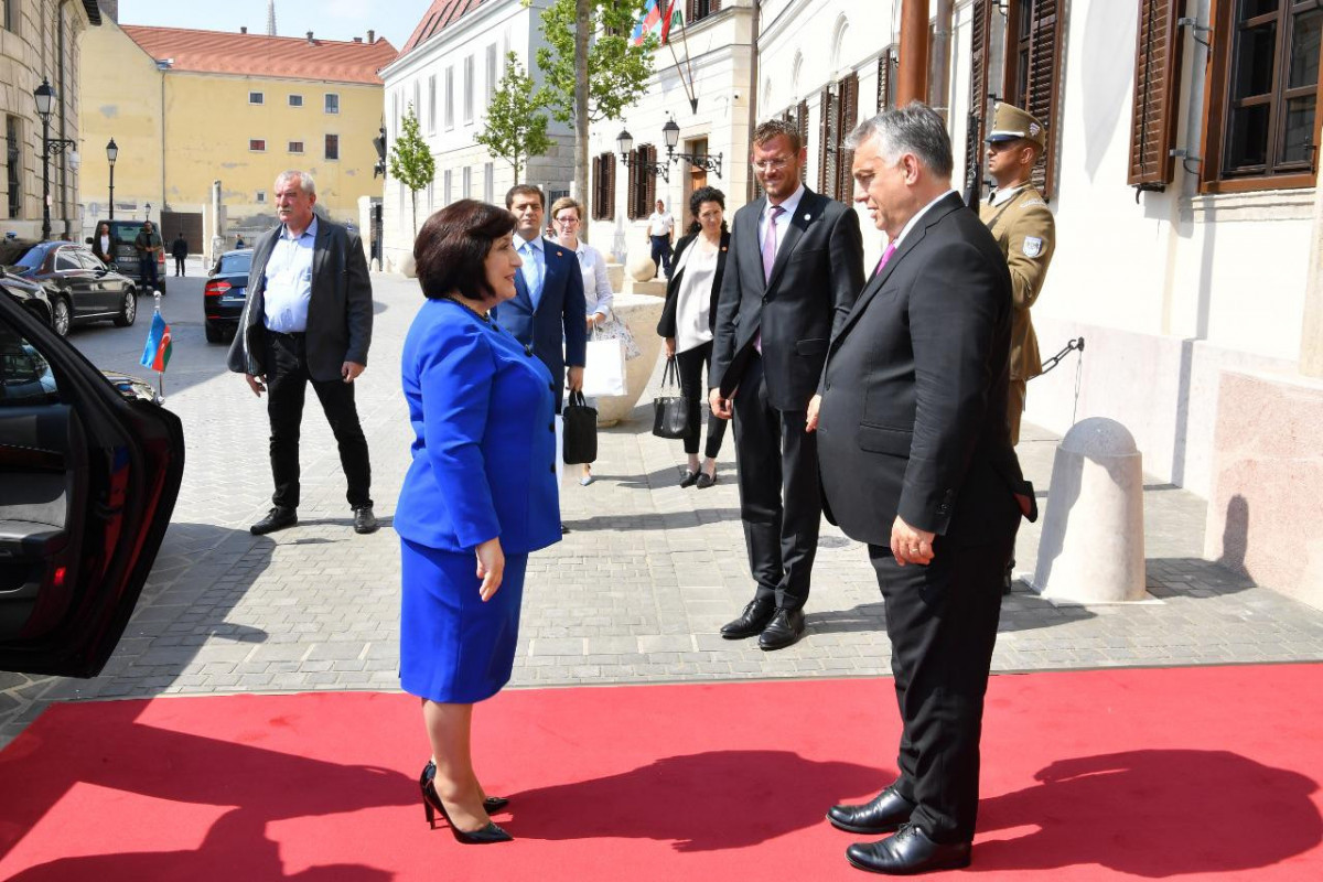 Chair of Milli Majlis met with Hungarian Prime Minister Victor Orban