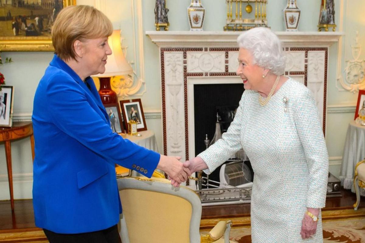 Kraliça II ElizabetAngela Merkellə görüşəcək