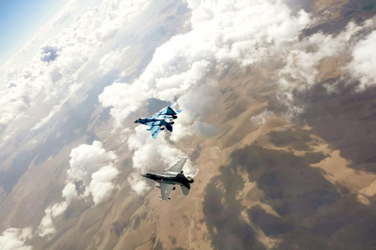 "Azerbaijani military pilots are successfully participating in the ""Anatolian Eagle - 2021"" Exercises"