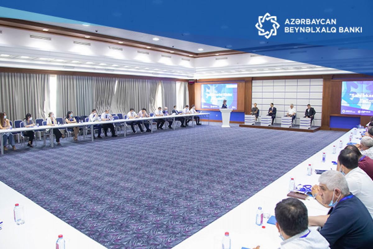 Международный Банк Азербайджана провел мероприятие по теме расширения возможностей предпринимателей-ФОТО