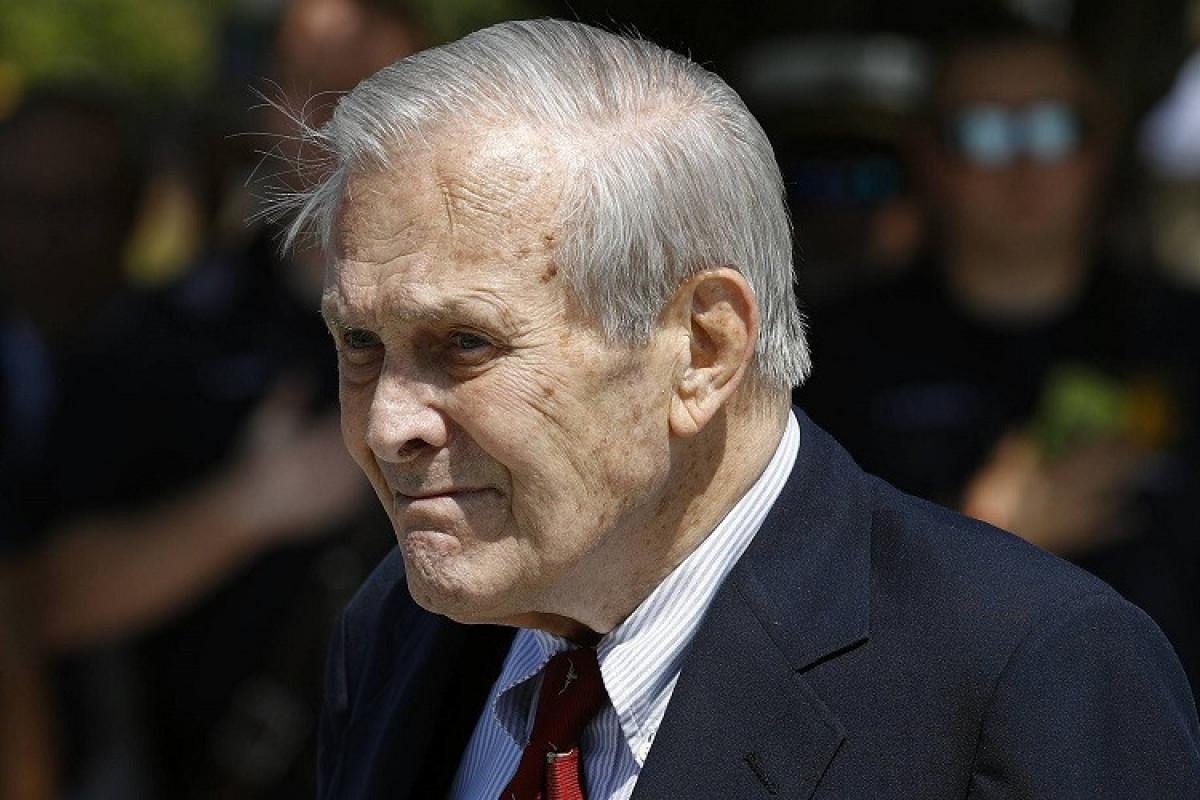 ABŞ-ın keçmiş müdafiə naziri Donald Ramsfeld vəfat edib