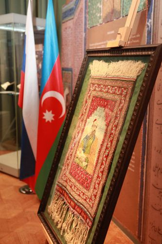 Moskvada Nizaminin 880 illik yubileyinə həsr olunmuş sərgi açılıb - <span class='red_color'>FOTO</span>