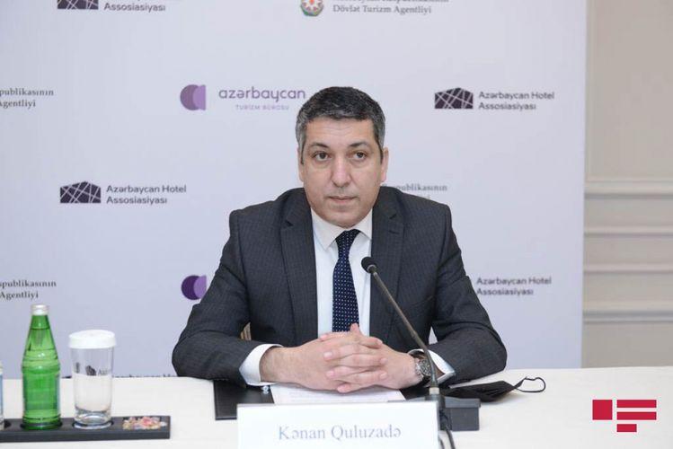 """Kənan Quluzadə: """"Turizmin dəstəklənməsi məqsədilə subsidiyaların verilməsi gündəmdədir"""""""