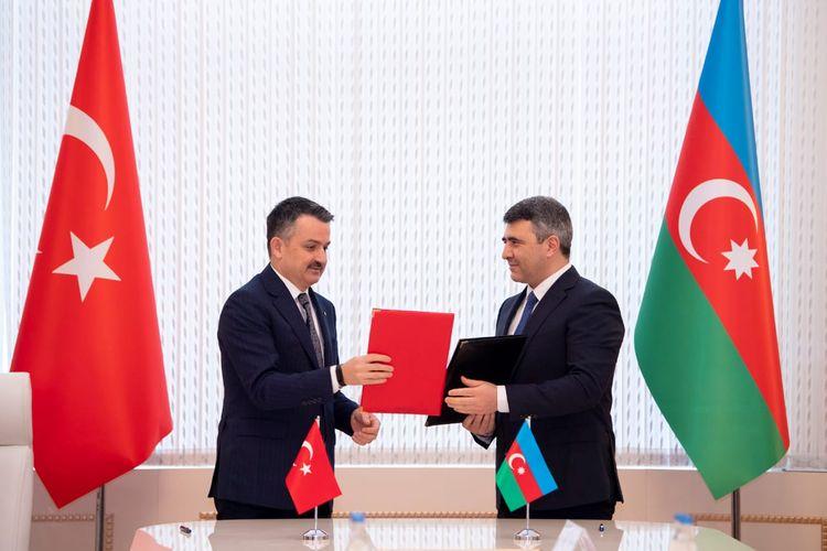 Azərbaycan və Türkiyə arasında kənd təsərrüfatı sahəsində əməkdaşlıq haqqında Niyyət Bəyannaməsi imzalanıb