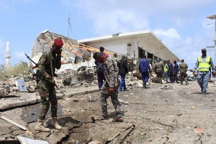 Somalinin paytaxtında partlayış olub