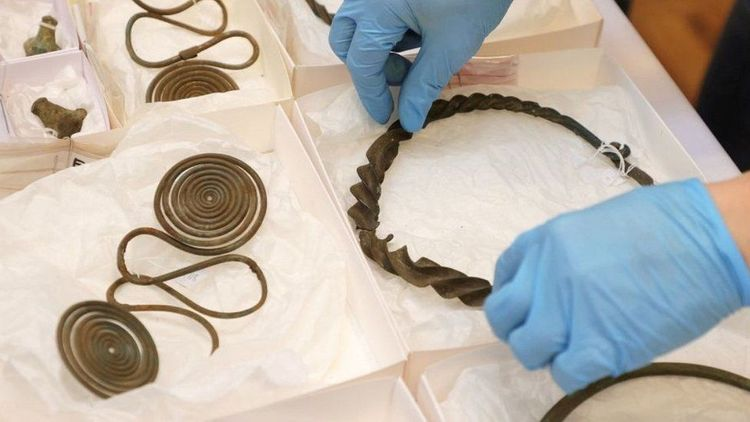 Bronze Age treasure found in Swedish forest by mapmaker - <span class='red_color'>PHOTO</span>