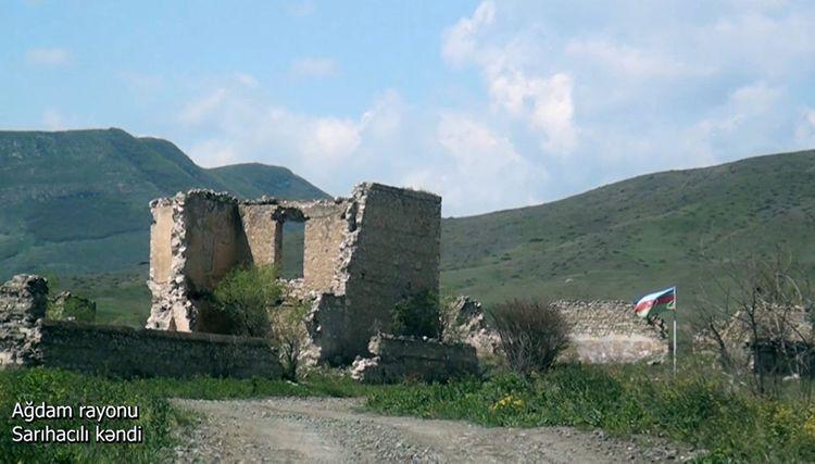 Azerbaijani MoD releases video footage of the Sarihajıli village of the Aghdam region - <span class=