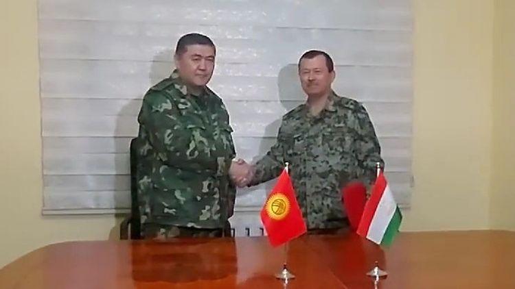 Kyrgyz, Tajik delegations sign joint protocol on delimitation and demarcation of state border