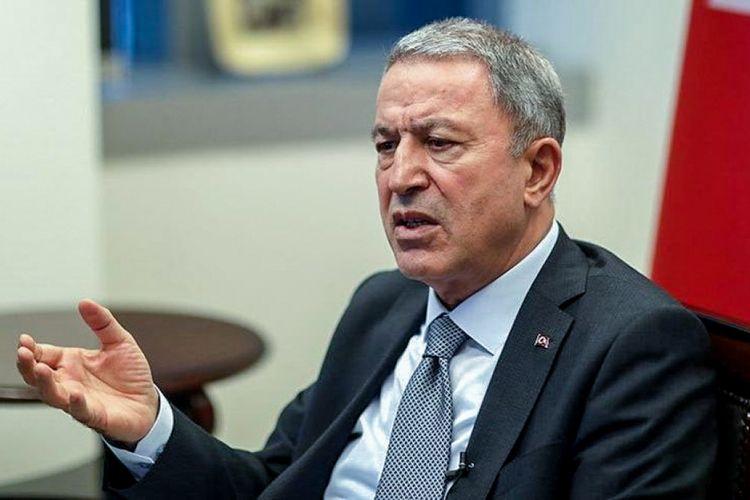 """Türkiyənin müdafiə naziri: """"PKK-nın içində ermənilər də var"""""""