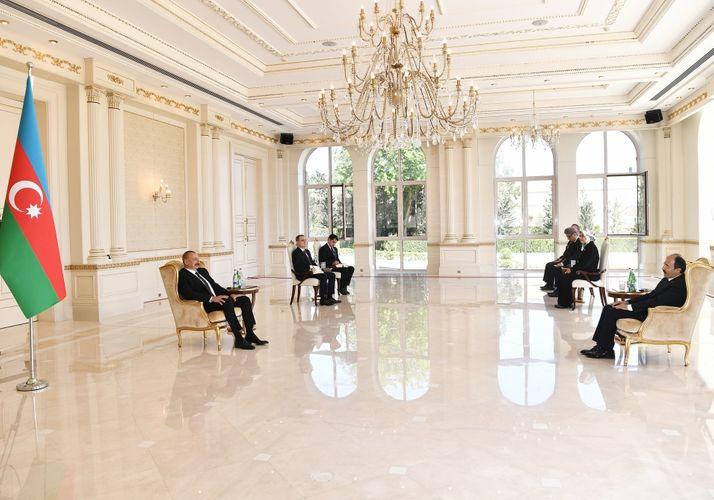 """Prezident: """"Türkiyə-Azərbaycan dostluğu, qardaşlığı bu gün ən yüksək zirvədədir"""""""