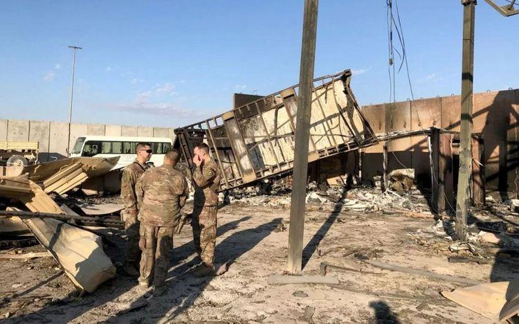 ABŞ qoşunlarının İraqda yerləşdiyi hərbi baza raket atəşinə tutulub