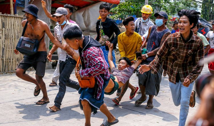 Myanmar parcel bomb blasts kill five including ousted lawmaker