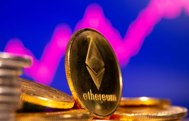 Ethereum extends gains to fresh record above $3,400