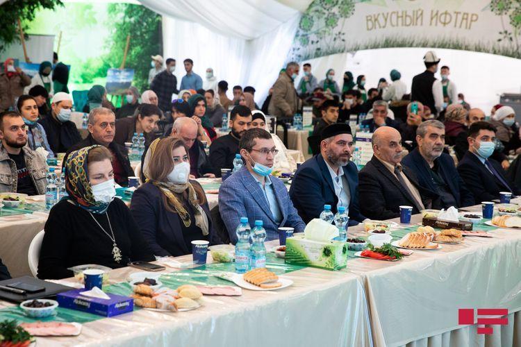 Iftar held on behalf of Leyla Aliyeva in Moscow - <span class=