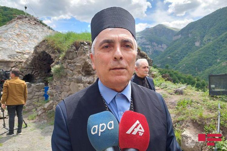 """Robert Mobili: """"Şükür ki, Pasxa bayramını işğaldan azad olunan Qarabağda, Kəlbəcərdə qeyd edirik"""""""