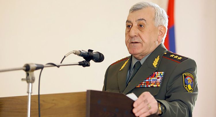 Charge against Armenia's former Defense Minister changed