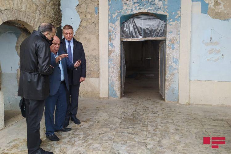 Russian deputy visits Aghdam Juma mosque