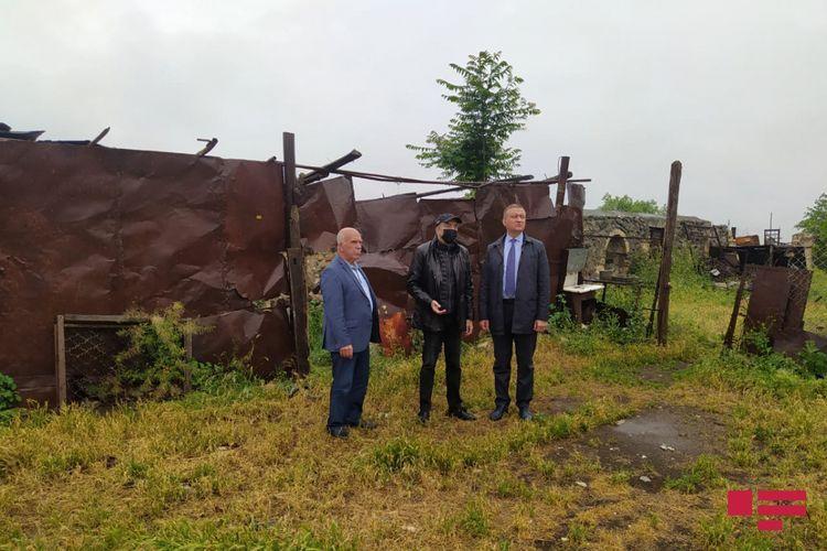 "Head of Russia-Azerbaijan inter-parliamentary friendship group visited ""Imarat"" complex in Aghdam"