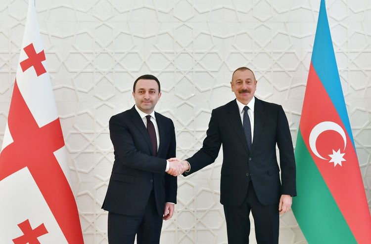 President Ilham Aliyev received Georgian PM - <span class='red_color'>UPDATED</span>