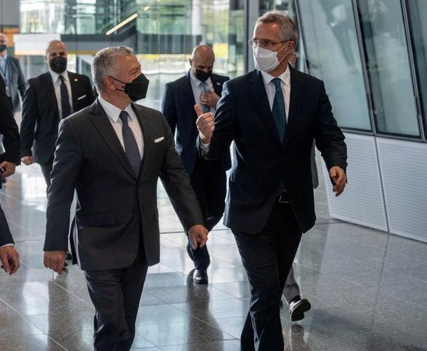 NATO Secretary General meets with Jordan