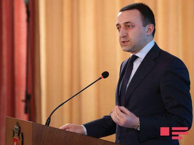 Премьер-министр Грузии посетил Аллею почетного захоронения и Аллею шехидов - <span class=