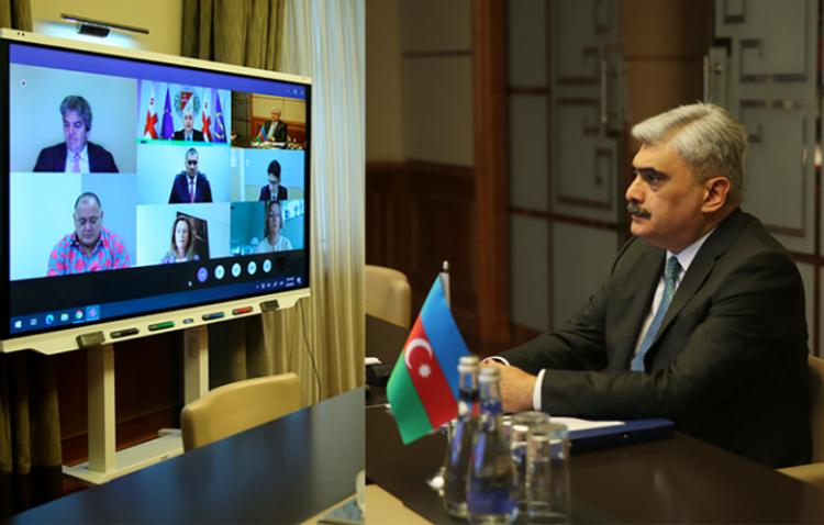 Azərbaycan AİB-in illik toplantısında iştirak edib