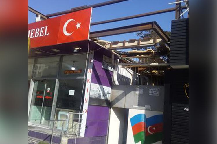 МЧС предотвратило еще одно незаконное строительство в Баку – <span class=