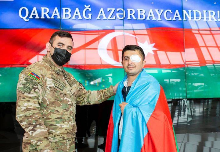 Türkiyəyə göndərilən daha 2 qazimiz sağalaraq Vətənə qayıdıb