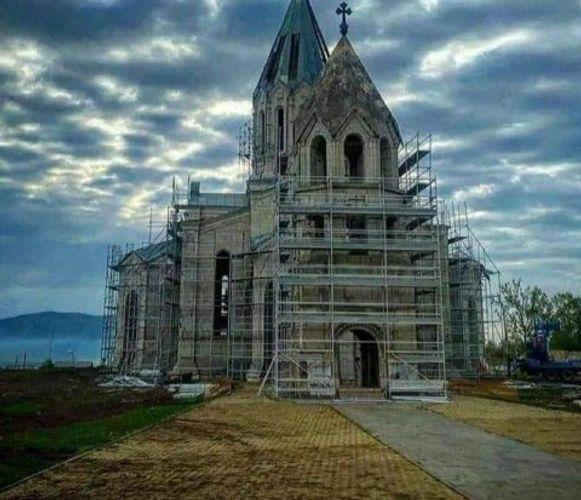 Вагиф Алиев: Будет возвращен исторический облик шушинской церкви Газанчы