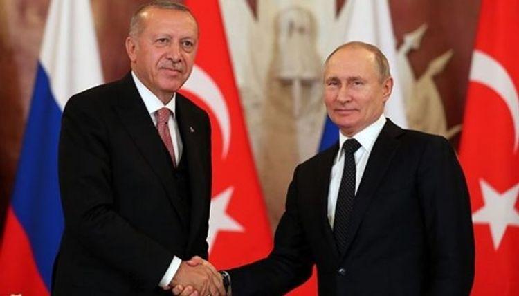 Russian, Turkish presidents discussed Nagorno Karabakh