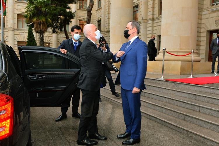 Azerbaijani, Georgian FMs hold extended meeting in Baku - <span class=
