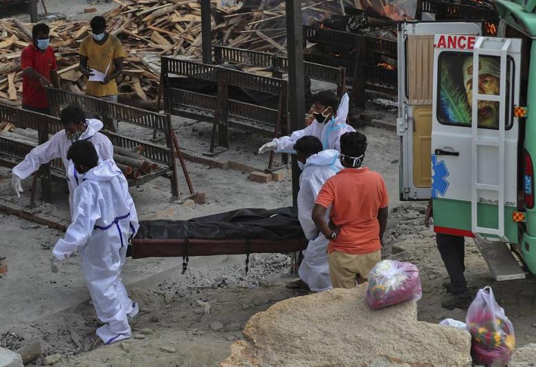 В Индии за сутки выявили рекордное число заразившихся коронавирусом
