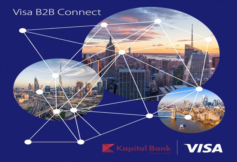 Azərbaycanda Visa B2B Connect ödəmə şəbəkəsi istifadəyə verilib