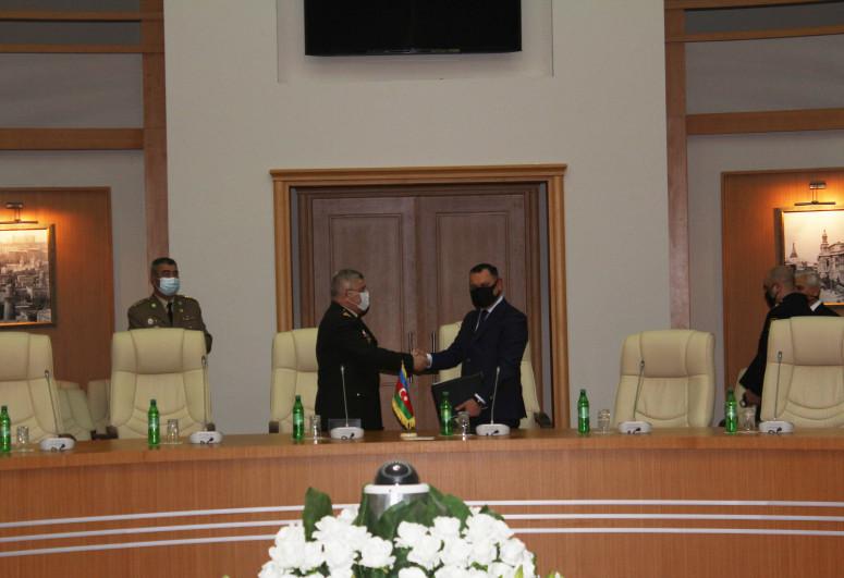FHN Akademiyası ilə Polis Akademiyası arasında əməkdaşlıq müqaviləsi imzalanıb