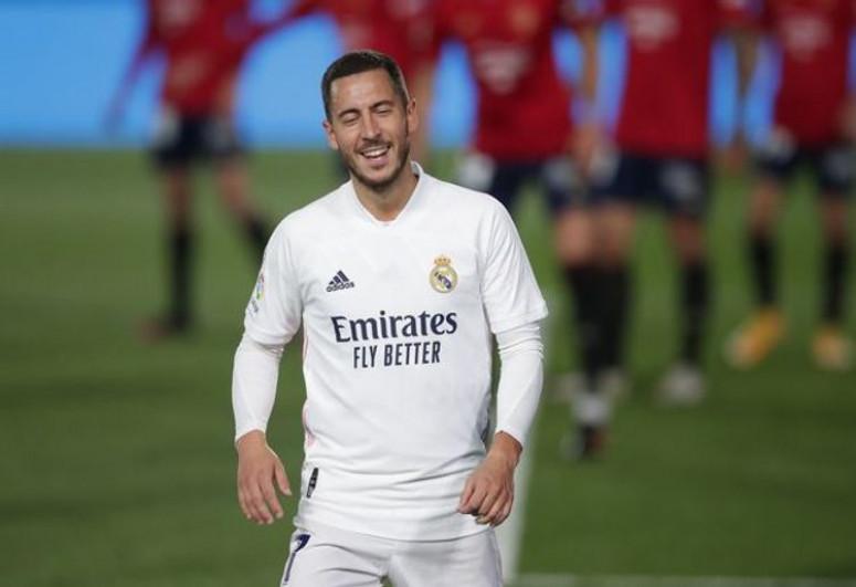 «Реал» выставил Азара на трансфер