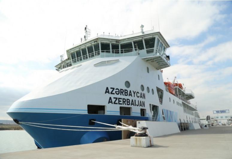 "Ro-Pax-type ferry vessel ""Azerbaijan"" set sail for its maiden voyage"