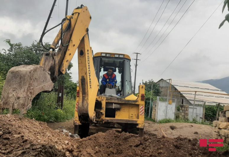 Журналисты ознакомились с ходом работ по водоснабжению Гадрута