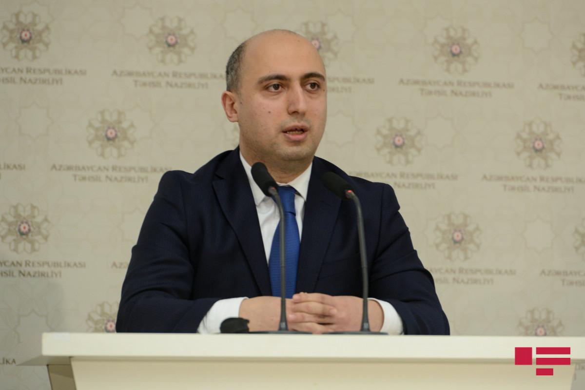 """Emin Əmrullayev: """"Rus bölməsində ibtidai sinif müəllimləri çatışmır"""""""