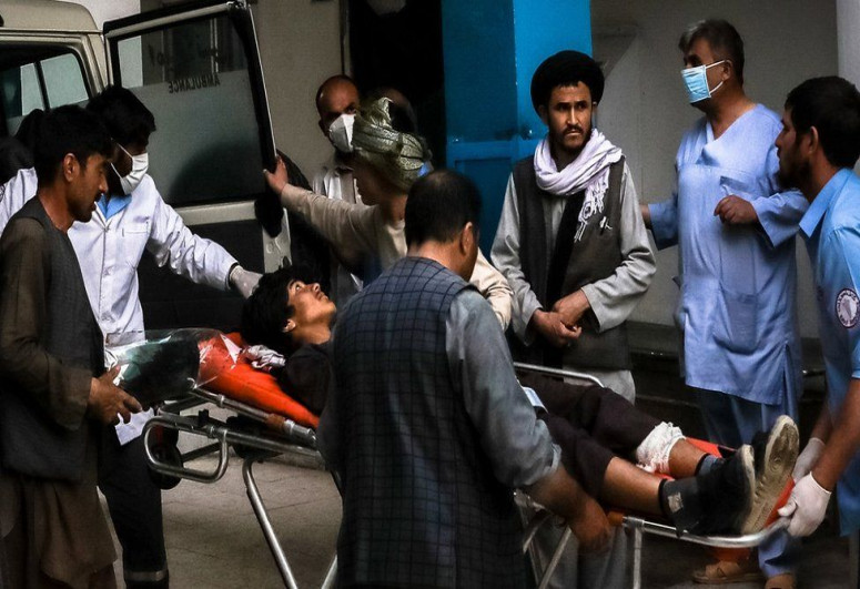 """Blasts targeting Afghan school in Kabul kill 40, injures dozens-<span class=""""red_color"""">UPDATED</span>"""