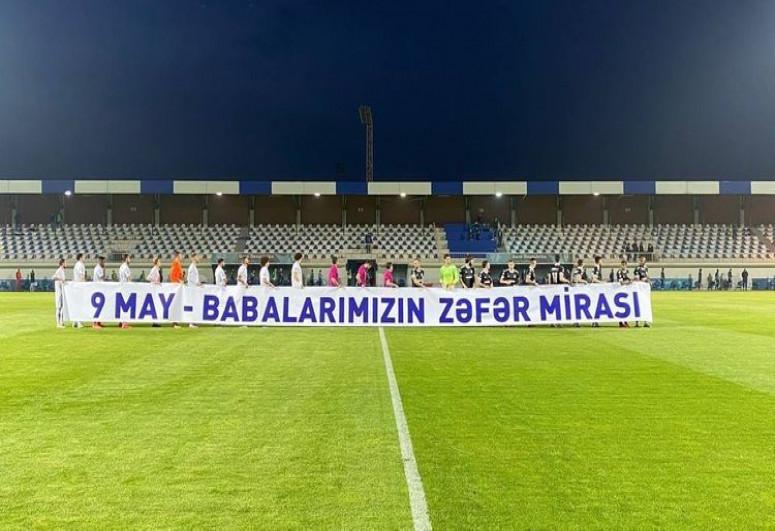 """""""Sabah"""" – """"Qarabağ"""" oyunu stadionda projektorun sönməsi səbəbindən dayandırılıb"""