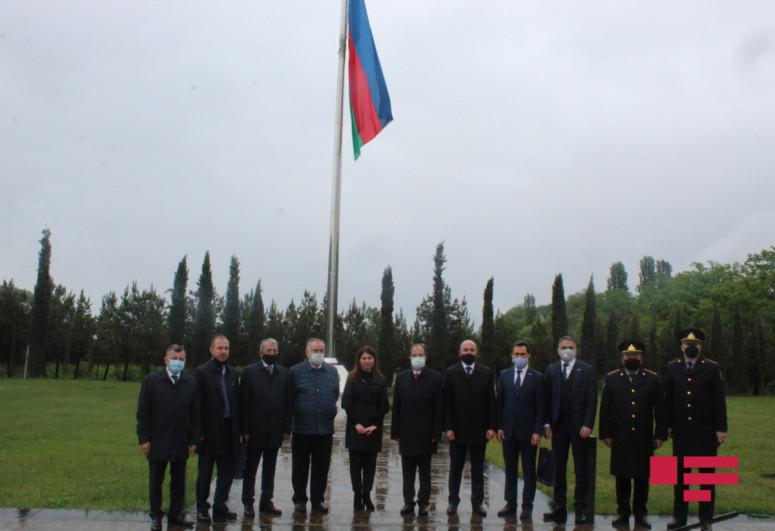 Türkiyə səfiri Quba Soyqırımı Memorial Kompleksini ziyarət edib - <span class=