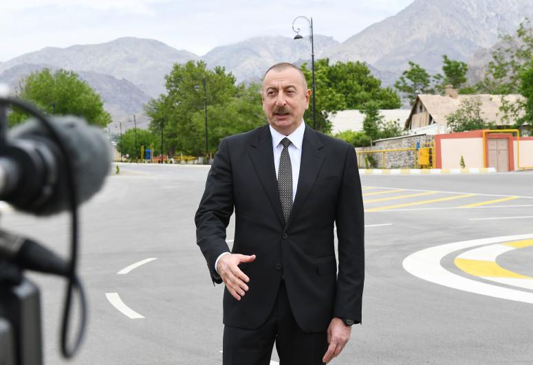 Prezident İlham Əliyev Azərbaycan Televiziyasına müsahibə verib - <span class=