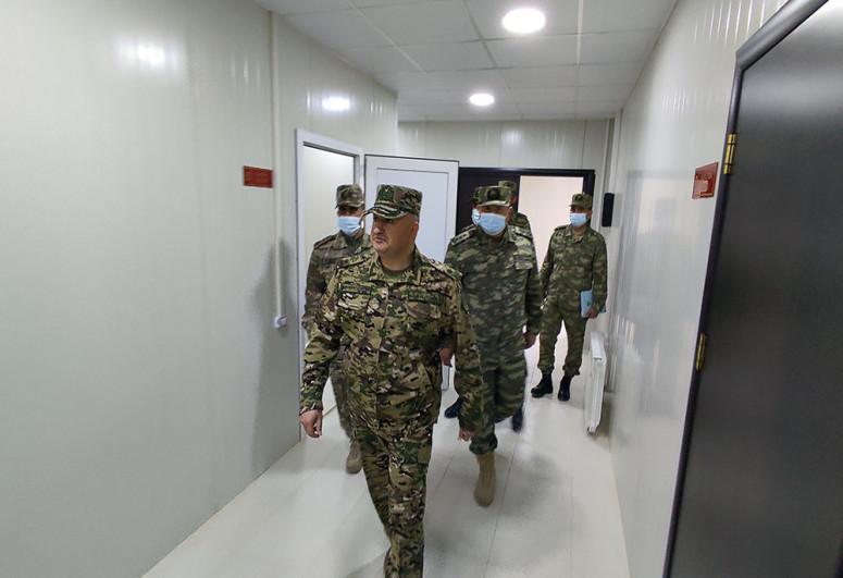 На освобожденных территориях введена в эксплуатацию новая воинская часть модульного типа-<span class=